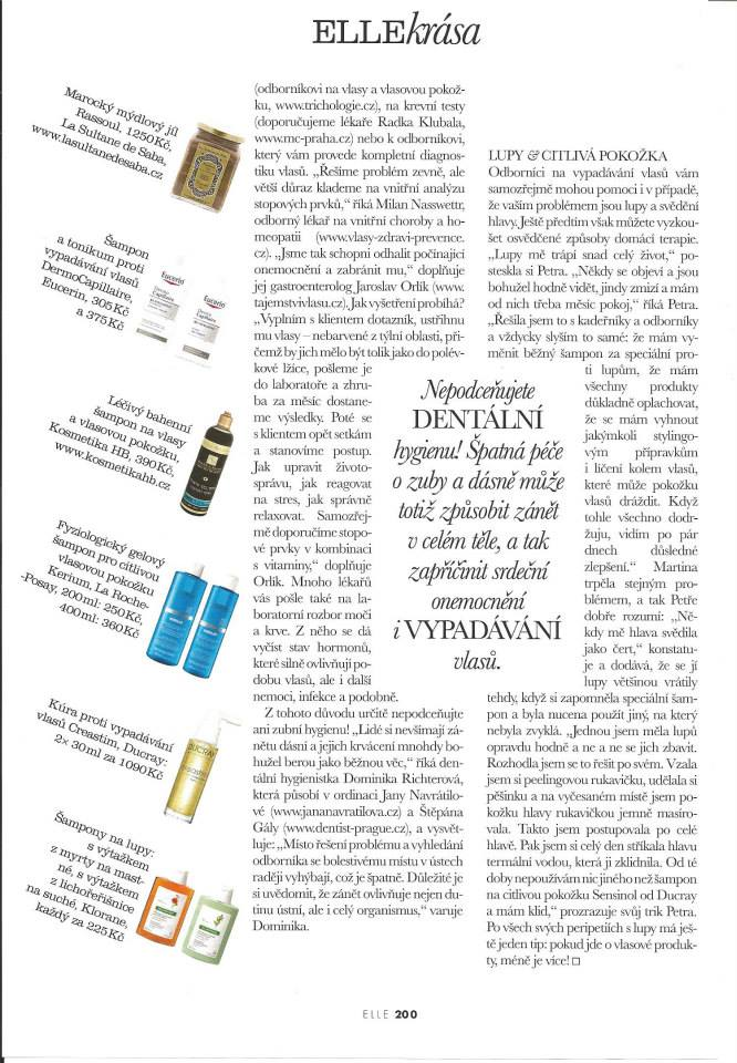 H&B's Mud Shampoo in ELLE Magazine!