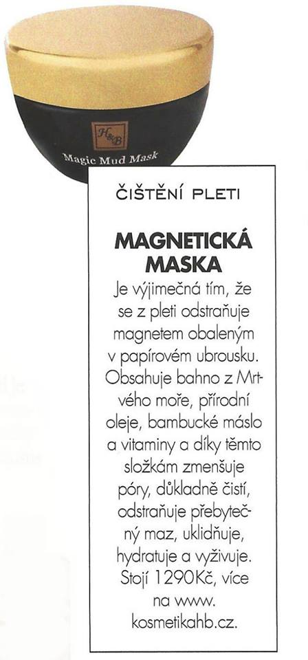 Elle Magazine's Choice – Magic Mud Mask
